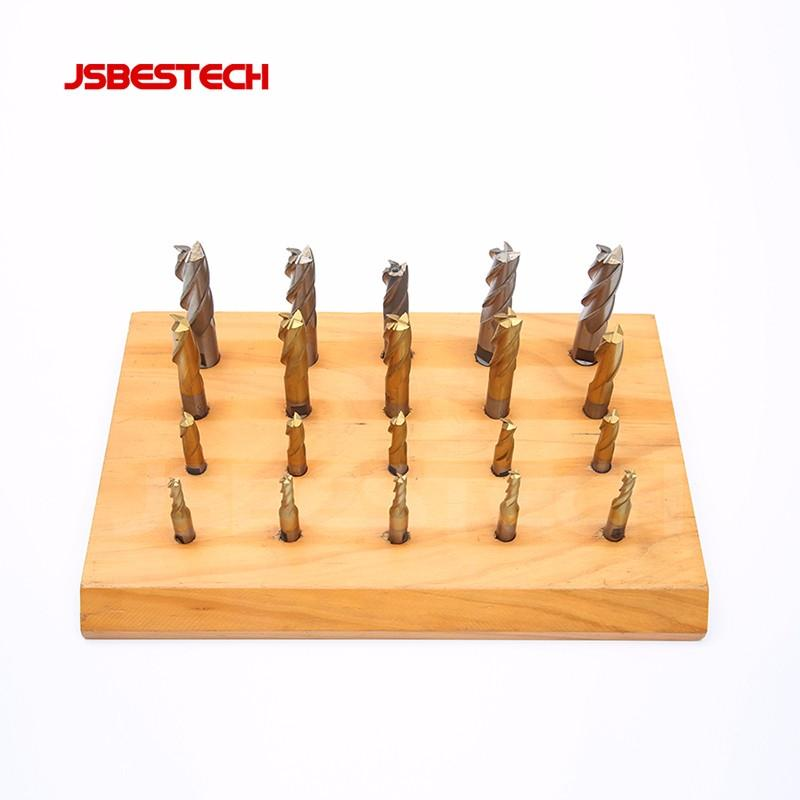 2 or 4 flue HSS 20 PIECES INCH END MILL CUTTER SET