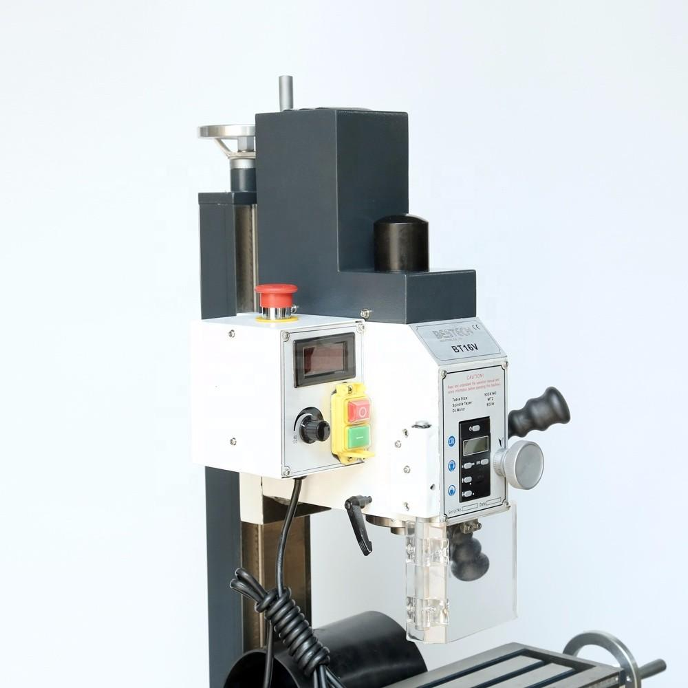 BT16V Mini Table Bench  Drilling Milling Machine