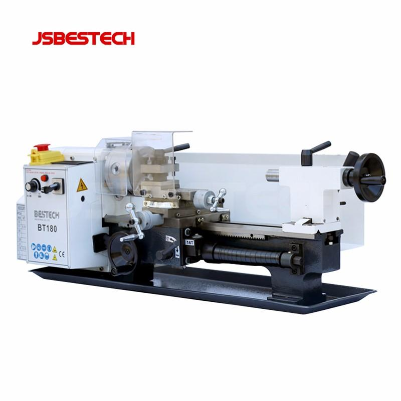 BT180 for metal working  mini bench torno lathe machine