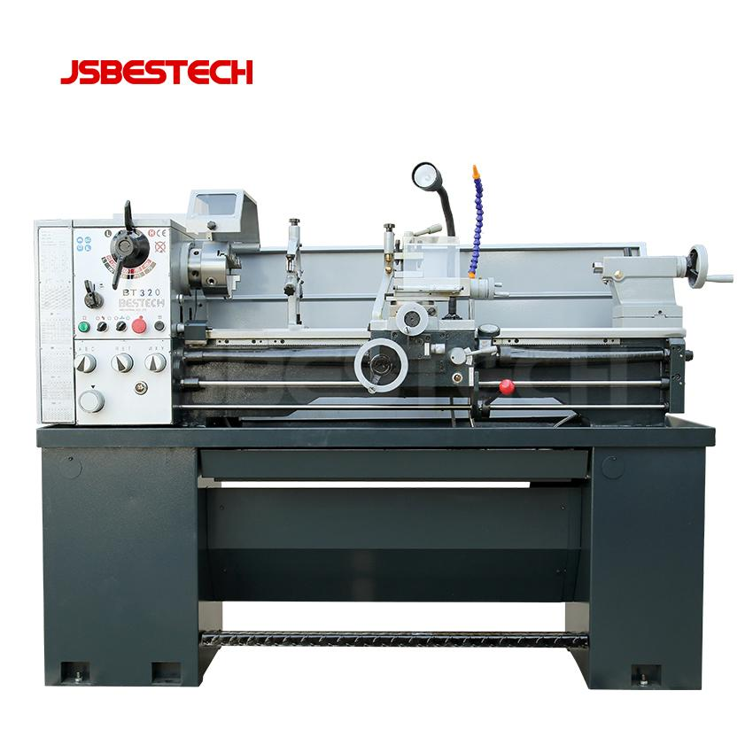 BT320 220V low price precision bench metal working lathe machine