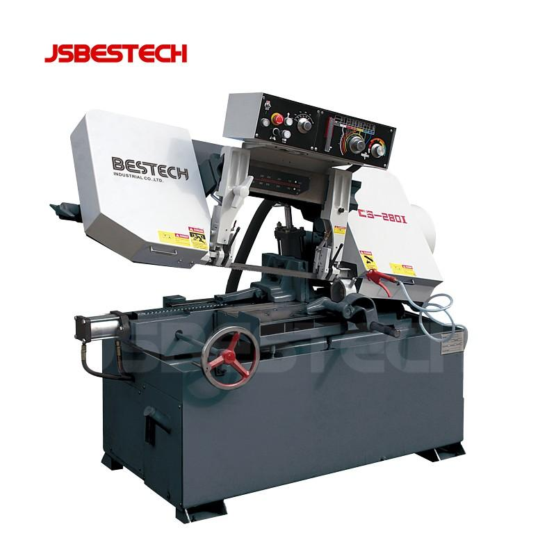 CS-2801 Series pivot semi automatic band saws