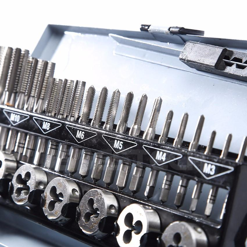 HSS 32 PIECES METRIC TAP AND DIE SET