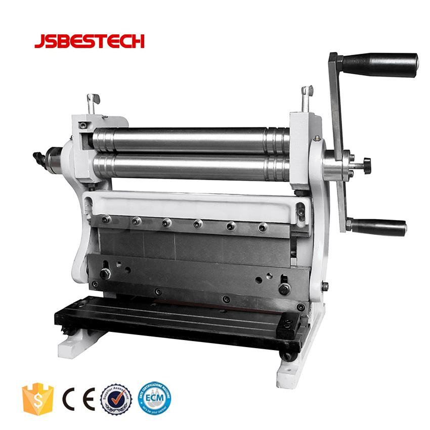 3-in-1 Manual Combination of Shear Brake and Roll Machine