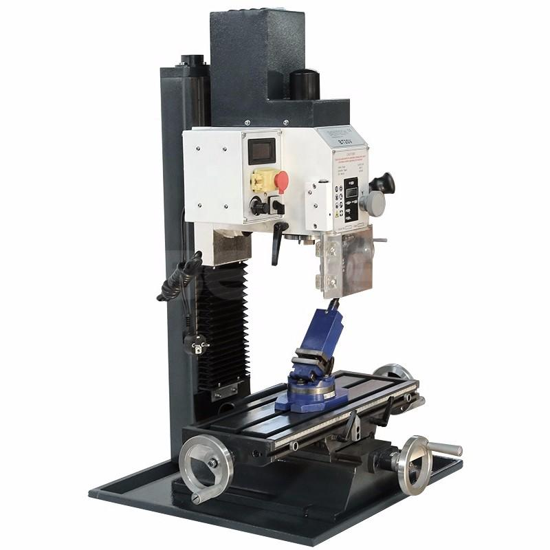 With 20mm Drilling Capacity BT20V Automatic Desktop Milling Machine