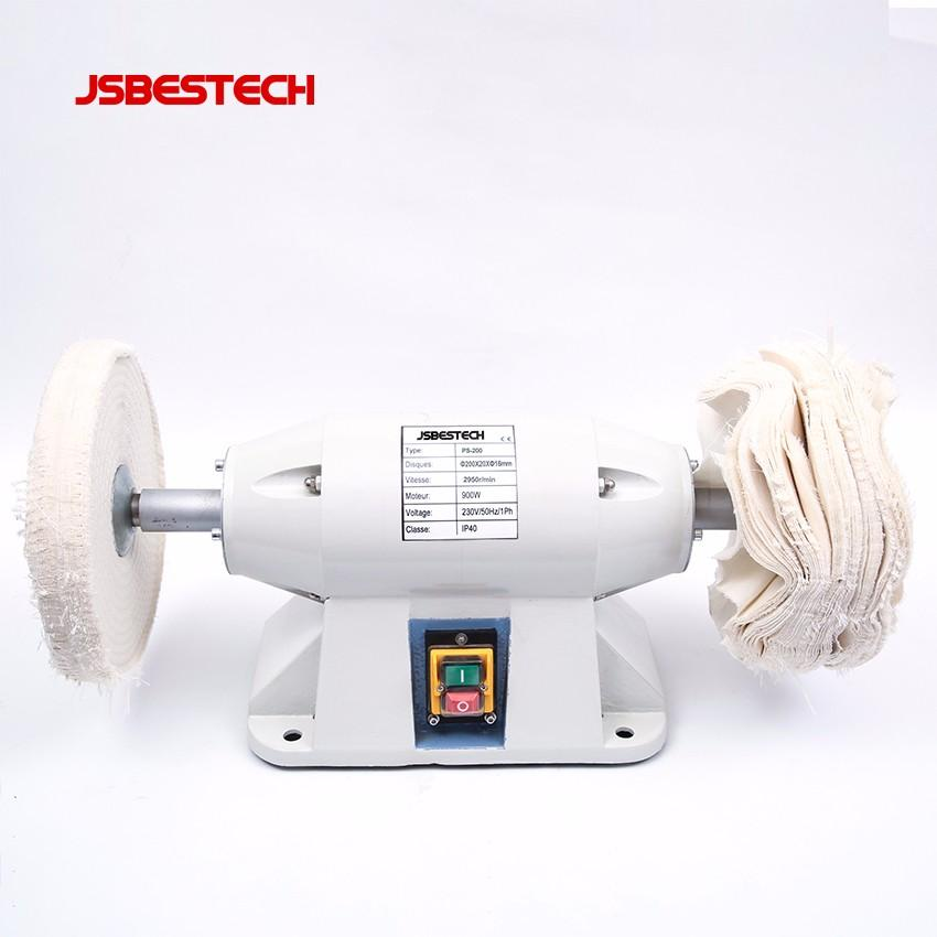 With copper motor 900w PS-200 8 inch aluminium polishing machine