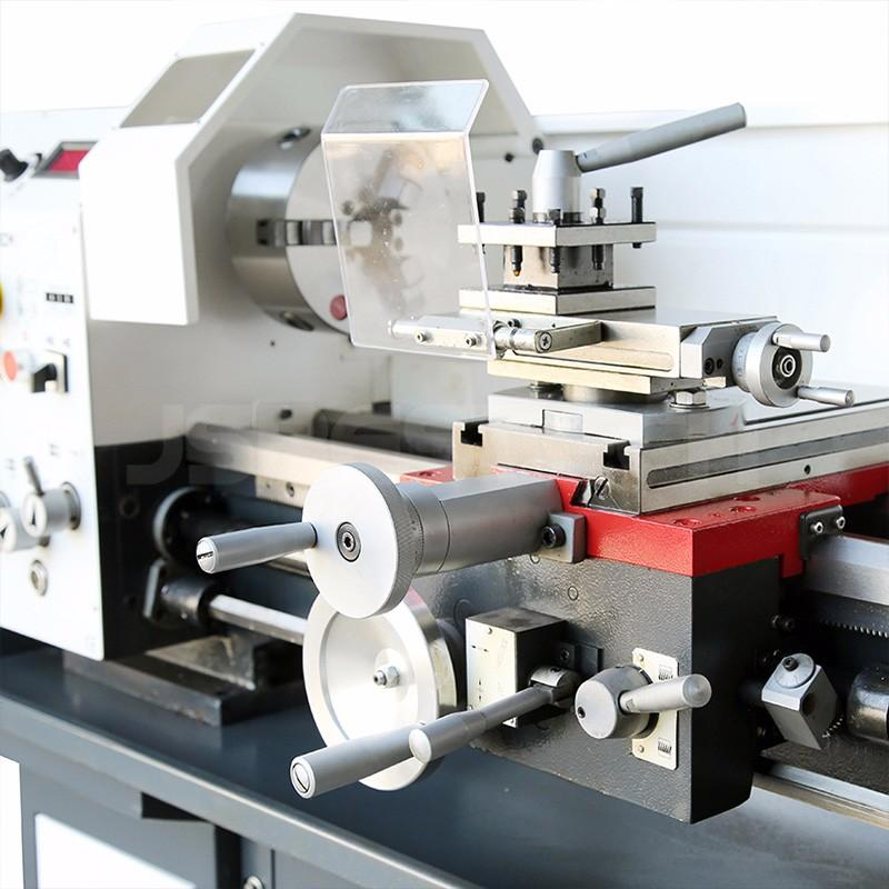With milling head BT290F brushless motor metal lathe machine