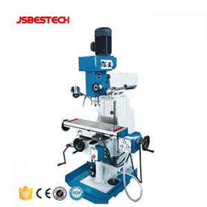ZX7550C Manual Turret Milling Machine Horizontal and Vertical Milling Machine